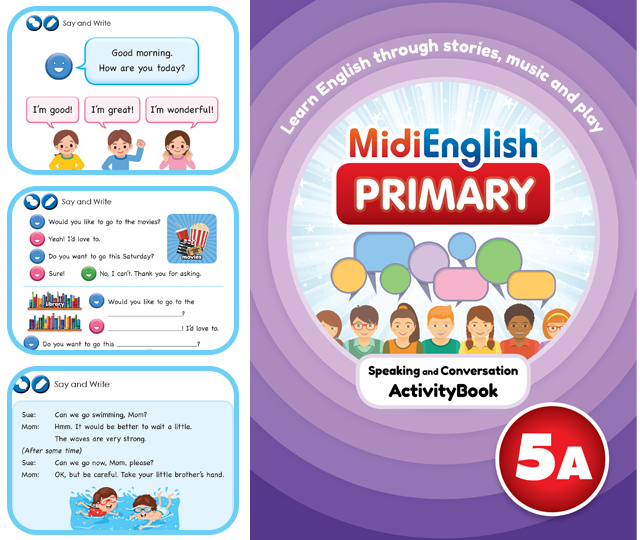 Speaking and Writing | Primary | MidiEnglish