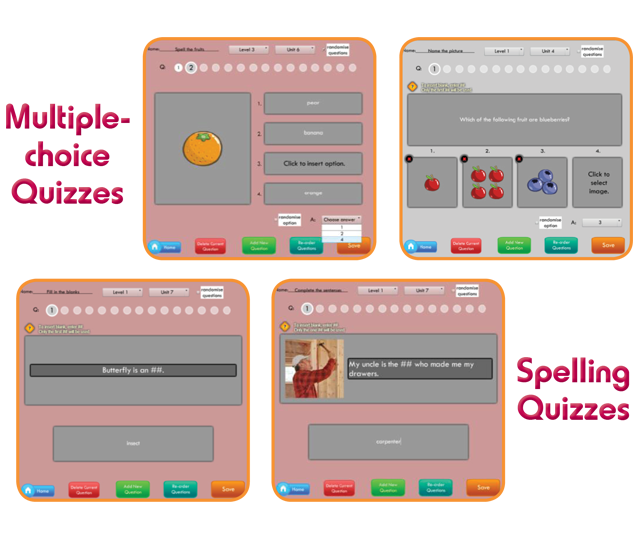Quiz Creation Tool for Teachers | Primary | MidiEnglish